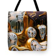 Time Melting Away.. Tote Bag by A Rey