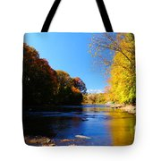Time Moving On Tote Bag