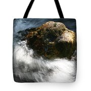 Time Rushing By Tote Bag