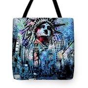 Times Square 2 Tote Bag