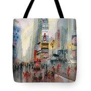 Time Square New York Tote Bag