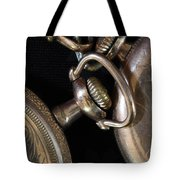 Time Squared 1 Tote Bag