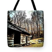 Time Standing Still Tote Bag