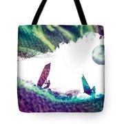 Time Surfer Tote Bag