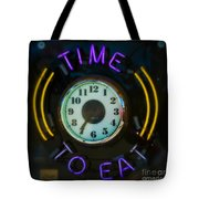 Time To Eat Tote Bag