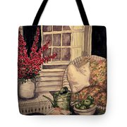 Time To Relax - Within Border Tote Bag
