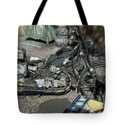 Time To Ride Tote Bag