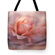 Time To Say Goodbye Rose Tote Bag