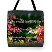 Time To Visit Tote Bag