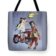 Time Travel With Oldtimer Tote Bag