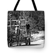 Time Travelers Bw Tote Bag