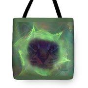 Time Warp Cat Tote Bag