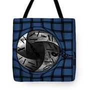 Time Weaves Tote Bag