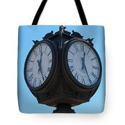 Timed  Tote Bag