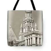 Timeless- New York City Hall Tote Bag