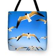 Timeless Seagulls Tote Bag