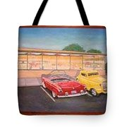 Times Past Diner Tote Bag