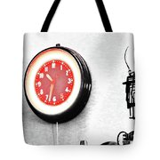 Times Red Tote Bag