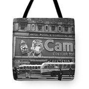 Times Square Advertising Tote Bag