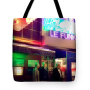 Times Square At Night - Le Funk Tote Bag