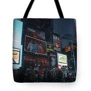 Times Square At Night Tote Bag
