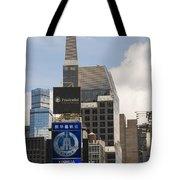 Times Square Color Tote Bag