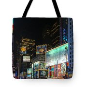 Times Square In 2010 Tote Bag