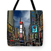 Times Square Tote Bag by Jeff Breiman