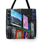 Times Square - Looking South Tote Bag