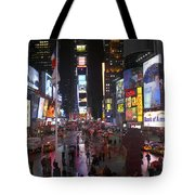 Times Square Tote Bag by Mike McGlothlen