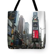 Times Square Tote Bag by Georgia Fowler