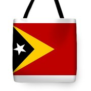 Timor-leste Flag Tote Bag
