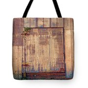 Tin Door Tote Bag