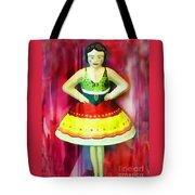 Tin Toy Ballerina Tote Bag
