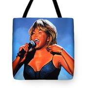 Tina Turner Queen Of Rock Tote Bag