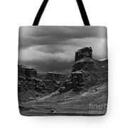 Tinajani Canyon Near Puno Peru Tote Bag