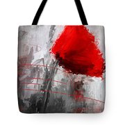 Tint Of Red Tote Bag