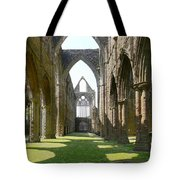 Tintern Abbey Nave Tote Bag