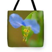 Tiny Blue Flower Tote Bag