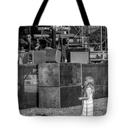 Tiny Dreamer Monochrome Tote Bag