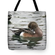 Tiny Duck Cleaning 4   # Tote Bag