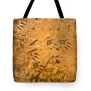 Tiny Patter Of Feet Tote Bag