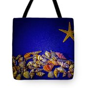 Tiny Sea Shells Tote Bag