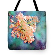 Tiny Spring Tree Blooms - Digital Color Change And Paint Tote Bag