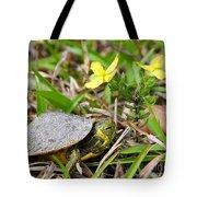 Tiny Turtle Close Up Tote Bag