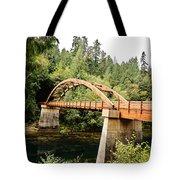 Tioga Bridge Over North Umpqua River Tote Bag