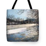 Tioughnioga River Landscape Tote Bag