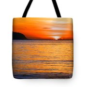 Tip Of The Sun Tote Bag