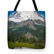 Tipsoo Moonset Tote Bag