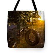 Tire Swing Tote Bag